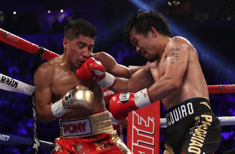 Manny Pacquiao thang diem Jessie Vargas, gianh dai WBO - Anh 3