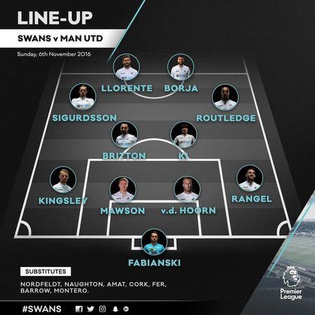 Swansea vs MU (0-3, H1): Ibrahimovic lap cu dup - Anh 15