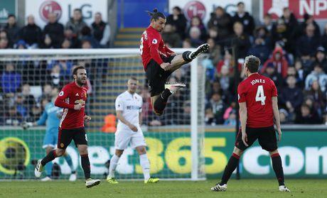 Swansea vs MU (0-3, H1): Ibrahimovic lap cu dup - Anh 3
