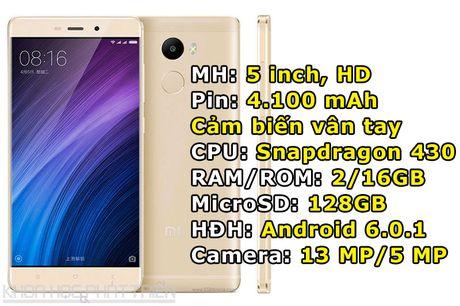 Xiaomi trinh lang 3 smartphone thiet ke dep, cau hinh tot, gia sieu re - Anh 2