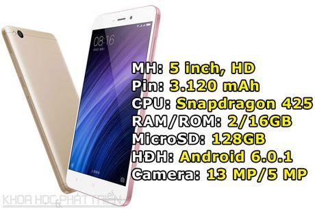 Xiaomi trinh lang 3 smartphone thiet ke dep, cau hinh tot, gia sieu re - Anh 3