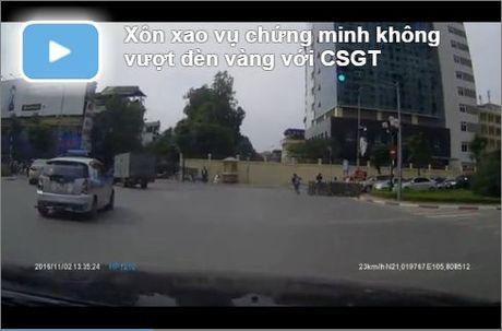 Video tu quay co 'cai' duoc CSGT hay khong? - Anh 1