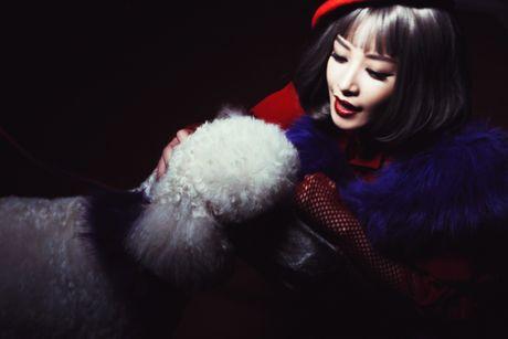Chi Pu ke chuyen catwalk cung cun cung poodle - Anh 8