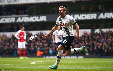 Walcott, Kane va danh sach 'Vua pha luoi' o derby Arsenal - Tottenham - Anh 1