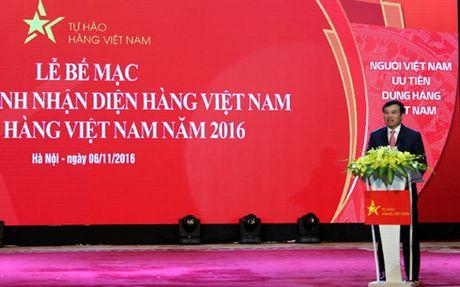 Nhan dien hang Viet Nam: 70% nguoi tieu dung Viet uu tien su dung - Anh 1