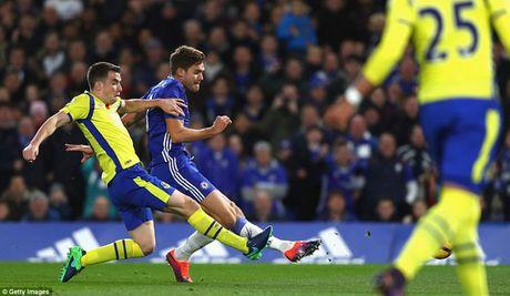Cham diem Chelsea 5-0 Everton: Nga mu truoc Eden Hazard - Anh 11