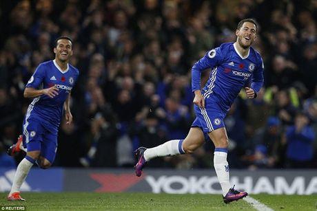 Cham diem Chelsea 5-0 Everton: Nga mu truoc Eden Hazard - Anh 2
