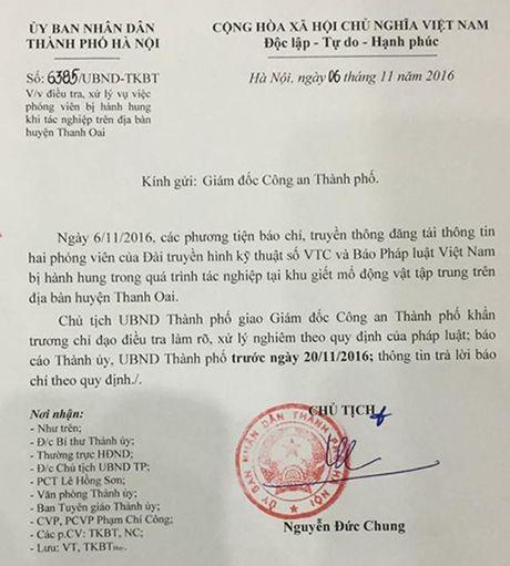 Chu tich Nguyen Duc Chung chi dao dieu tra vu 2 PV bi hanh hung - Anh 2
