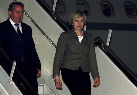 Thu tuong Anh Theresa May bat dau tham chinh thuc An Do - Anh 1