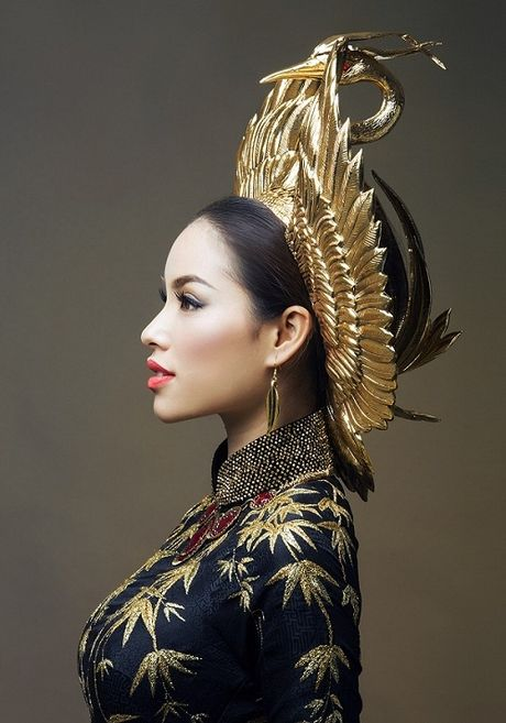 My nhan Viet'treo co' vi nhung chiec khan man khong lo - Anh 4