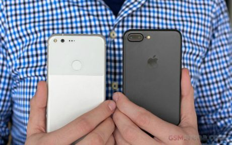 iPhone 7 Plus do suc cung Google Pixel XL - Anh 9