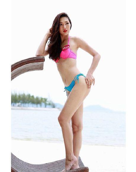 Anh ao tam 'hot' cua my nu muon 'vuot mat' Lan Khue - Anh 8