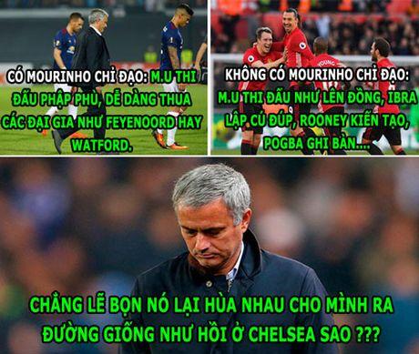 HAU TRUONG (7.11): Sao M.U 'hua' nhau cho Mourinho 'ra duong' - Anh 2