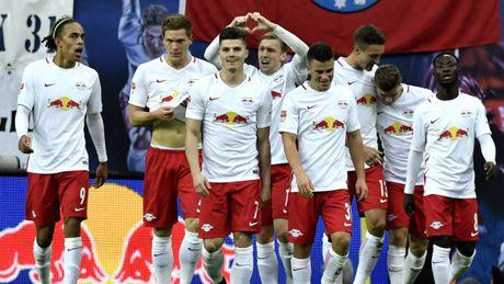 Sang ngang Bayern, RB Leipzig di vao lich su Bundesliga - Anh 1