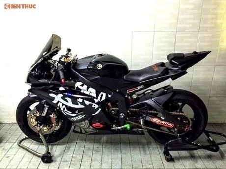 Yamaha R6 'do khung' tu trong ra ngoai cua dan choi Viet - Anh 9