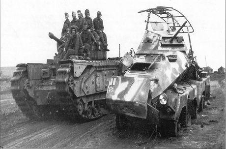 Kinh ngac suc manh xe tang hang nang Churchill trong CTTG 2 - Anh 12