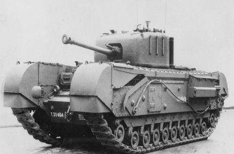 Kinh ngac suc manh xe tang hang nang Churchill trong CTTG 2 - Anh 3