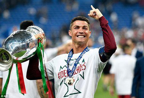 Messi bi danh bat khoi top 10 cau thu hay nhat nam 2016 - Anh 1