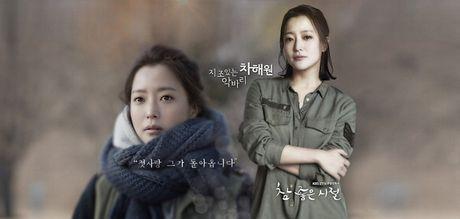 """Gap lai """"bieu tuong nhan sac"""" Kim Hee Sun trong """"Vong tay gia dinh"""" - Anh 3"""