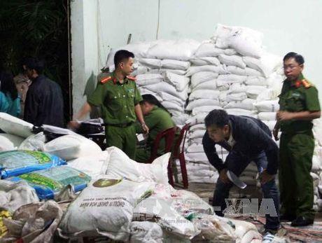 Dinh chi hoat dong doanh nghiep san xuat phan bon khong nhan mac - Anh 1