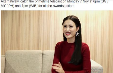 Dong Nhi tro thanh 'Nghe si Dong Nam A xuat sac nhat' tai MTV EMA - Anh 2