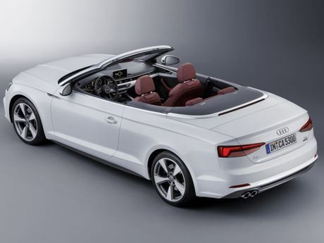 Audi trinh lang A5 va S5 Cabriolet - dong xe the thao mui tran - Anh 10