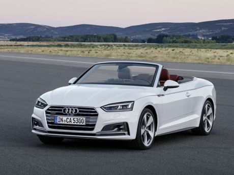 Audi trinh lang A5 va S5 Cabriolet - dong xe the thao mui tran - Anh 2