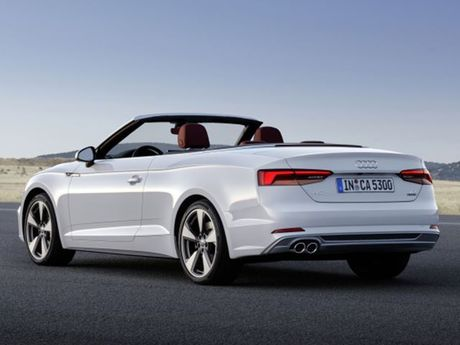 Audi trinh lang A5 va S5 Cabriolet - dong xe the thao mui tran - Anh 4