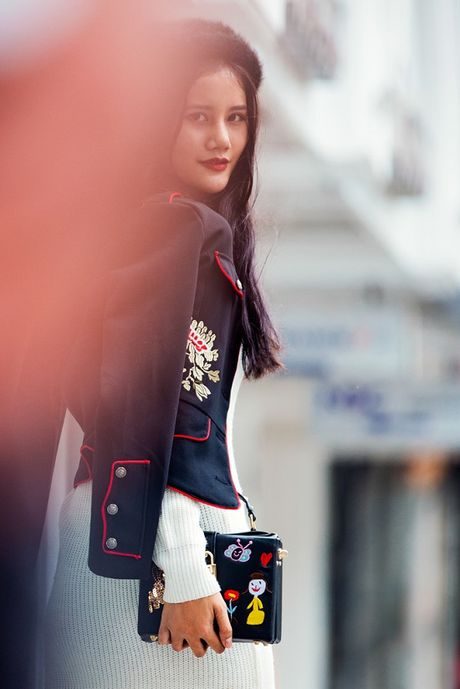Hoang Thuy, Trang Khieu, Huong Ly can quyet street style cuoi tuan - Anh 14