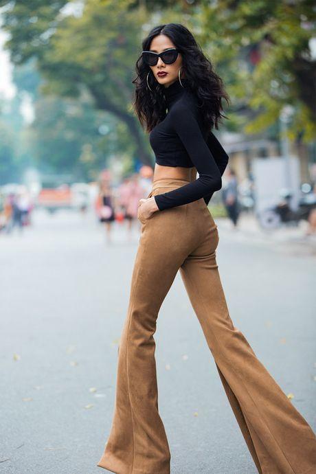 Hoang Thuy, Trang Khieu, Huong Ly can quyet street style cuoi tuan - Anh 6