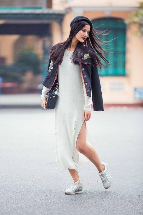 Hoang Thuy, Trang Khieu, Huong Ly can quyet street style cuoi tuan - Anh 9