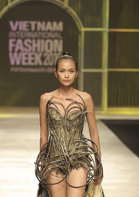 Ngoc Chau- guong mat noi bat tai Vietnam International Fashion Week Thu Dong 2016 - Anh 2