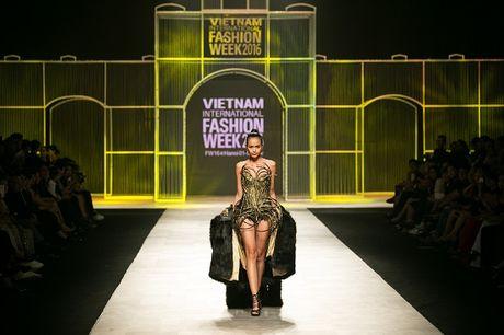 Ngoc Chau- guong mat noi bat tai Vietnam International Fashion Week Thu Dong 2016 - Anh 3