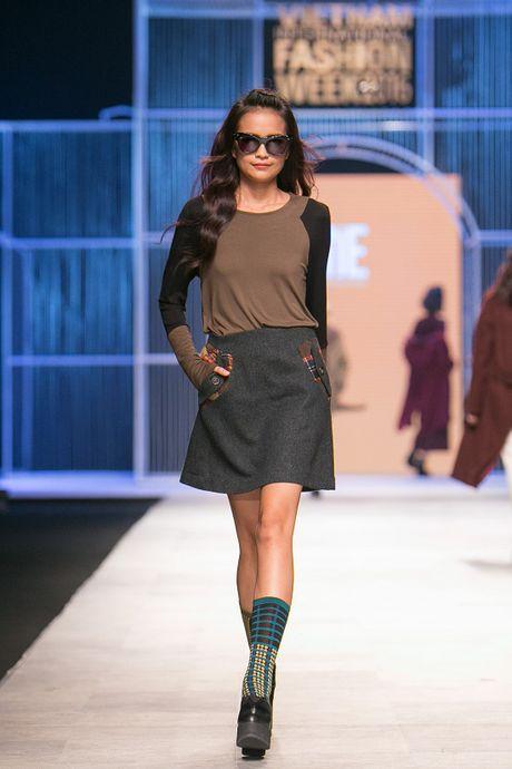 Ngoc Chau- guong mat noi bat tai Vietnam International Fashion Week Thu Dong 2016 - Anh 8
