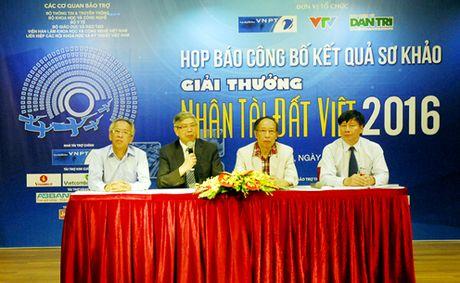 20 san pham xuat sac vao Chung khao Nhan tai Dat Viet 2016 - Anh 1