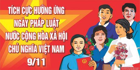 Huong ung Ngay Phap luat Viet Nam nam 2016 - Anh 1