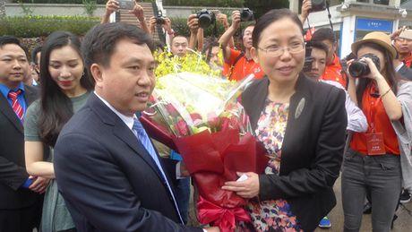 Lang Son: Khoi dong Lien hoan huu nghi Thanh nien Viet - Trung - Anh 1