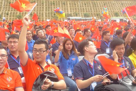 Lang Son: Khoi dong Lien hoan huu nghi Thanh nien Viet - Trung - Anh 2