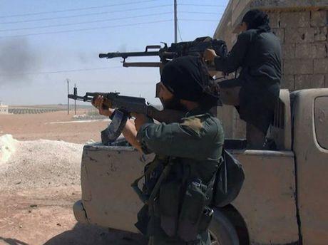 Quan doi Tho Nhi Ky pha huy 58 muc tieu IS tai mien bac Syria - Anh 1