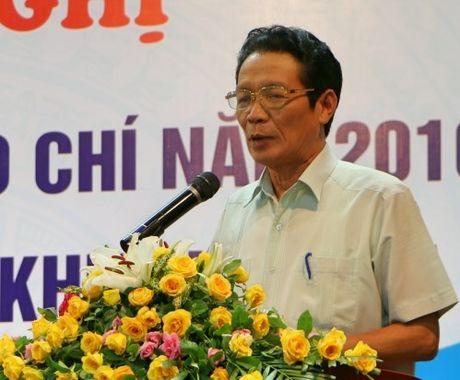 Bo Thong tin va Truyen thong pho bien Luat Bao chi nam 2016 - Anh 1