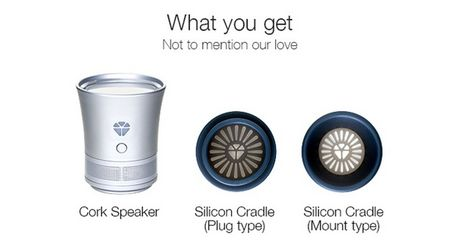 Bien chai thuy tinh thanh loa Bluetooth - Anh 2