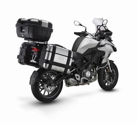 TRK 502 Twin Adventure - Xe duong truong moi cua Benelli - Anh 2