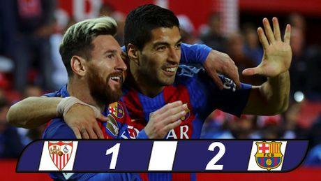 Barca nhoc nhan loi nguoc dong danh bai Sevilla - Anh 1
