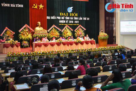 Dai hoi Dai bieu phu nu Ha Tinh lan thu XV tien hanh phien tru bi - Anh 4