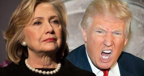 The thang bai cua Hillary Clinton va Donald Trump truoc gio G - Anh 1