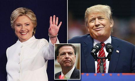 The thang bai cua Hillary Clinton va Donald Trump truoc gio G - Anh 2