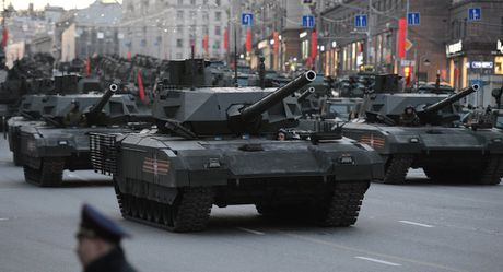 Tinh bao Anh: Armata Nga la 'the he xe tang cach mang nhat' - Anh 1