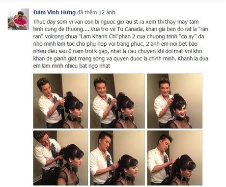 Tai sao Lam Chi Khanh lai co moi quan he dac biet voi Dam Vinh Hung? - Anh 8