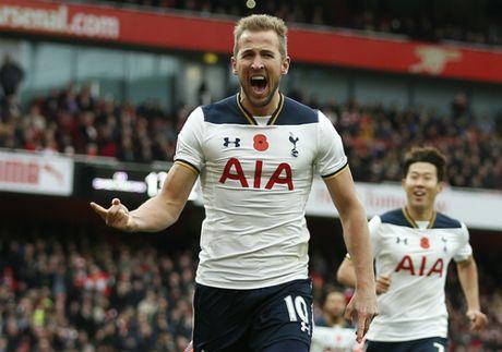 Harry Kane khien Arsenal khong the leo len ngoi dau Ngoai hang Anh - Anh 1