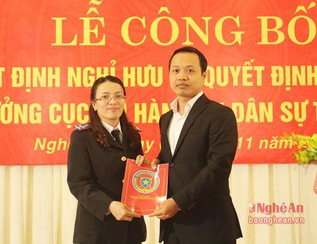Nghe An bo nhiem Cuc truong Cuc Thi hanh an dan su - Anh 4